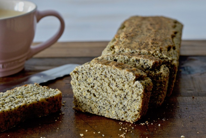 Poppy seed lemon loaf