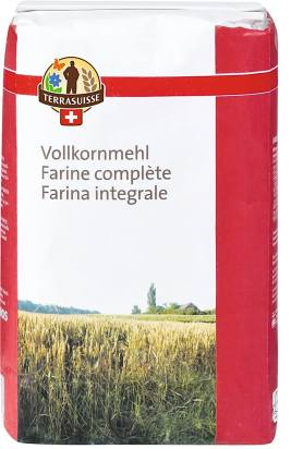 Whole wheat flour for pastries and breads
